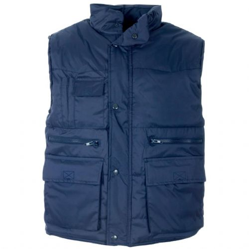 Supertouch Multi Pocket Navy Bodywarmer